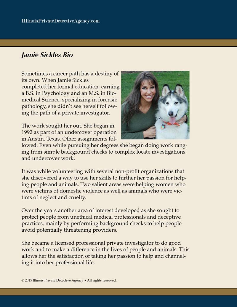 jamie sickles bio